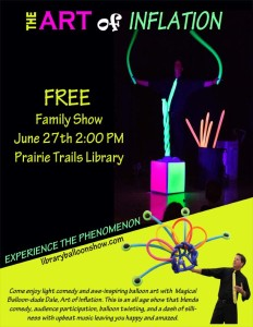 20170627 - Balloon Poster Prairie Trails Library